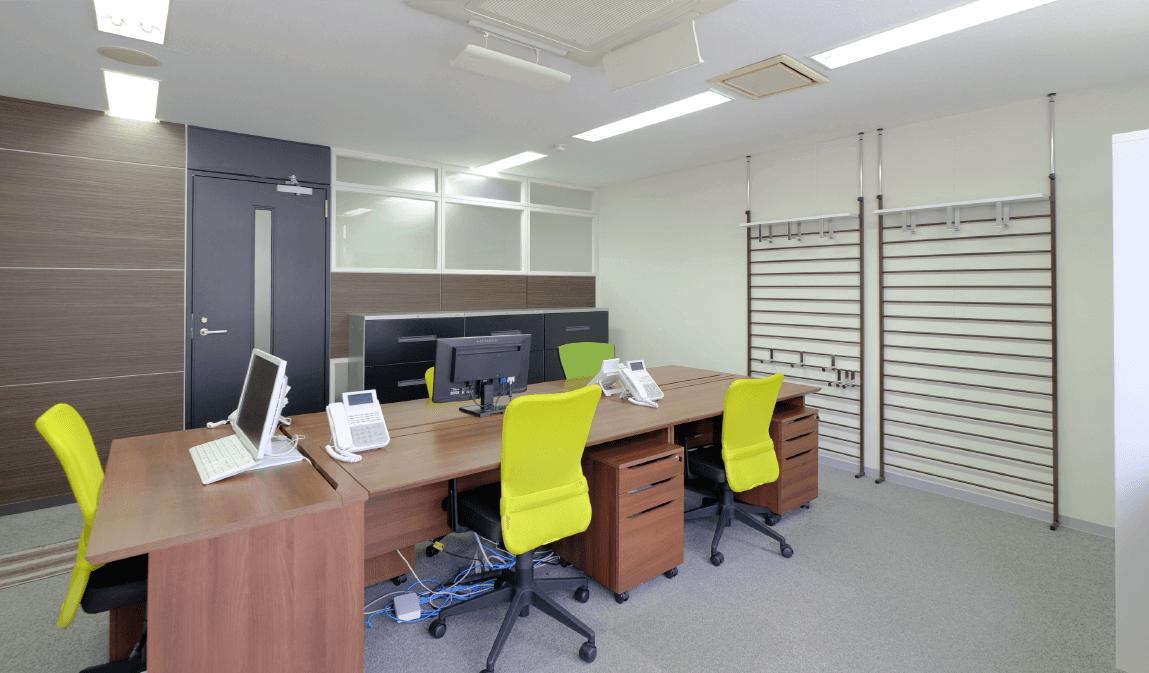大阪支店のオフィス