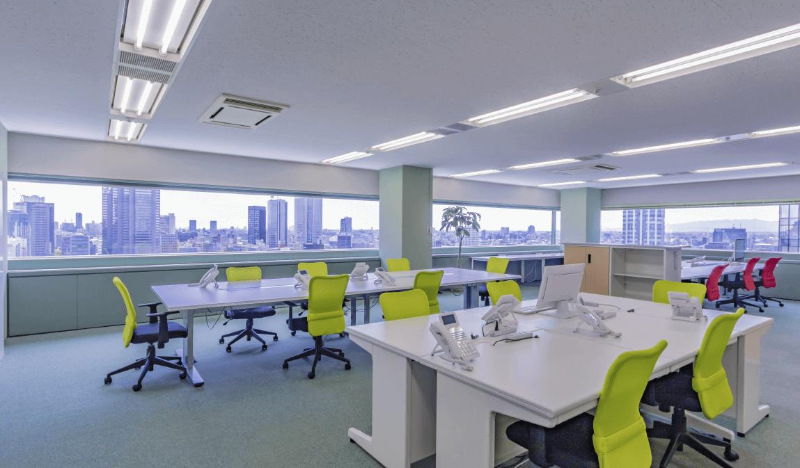 東京本店のオフィス